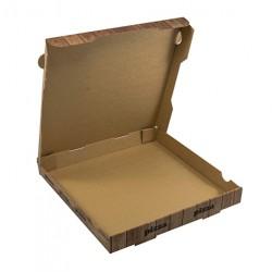 Κουτιά πίτσας φούρναρης-ξύλο Νο26 200 Τεμ.
