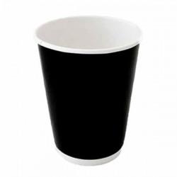 Ποτήρια χάρτινα BLACK 12oz/300ml 50 Τεμ.