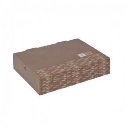 Κουτιά club sandwich natural 22x13x5,5