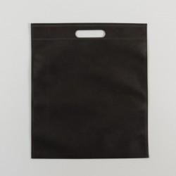 Τσάντες Μαύρες non woven 40x50 με χούφτα 25 Τεμάχια