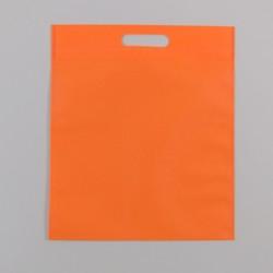 Τσάντες Πορτοκαλί non woven 40x50 με χούφτα 25 Τεμάχια