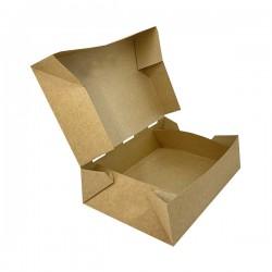 Easy open κουτί KRAFT μερίδα 24.5x13x5,5 cm 25 τεμ.