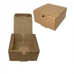 Κουτί burger ατομικό ECO KRAFT 12,5x13x7 cm 100 τεμ.