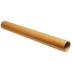 Χάρτινος κύλινδρος Φ105mm/140cm με πλαστικές τάπες